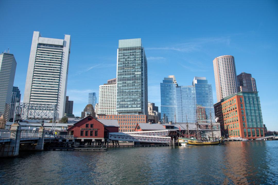 ボストン ビルが建ち並ぶ風景